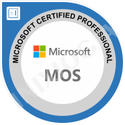 Certification-MicrosoftMOS