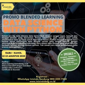 Blended Learning Data Science With Python