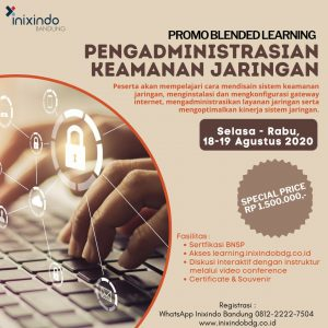 Blended Learning Pengadminstrasian Keamanan Jaringan