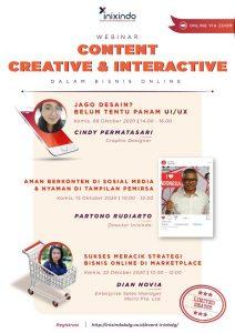 Webinar Content Creative & Interactive
