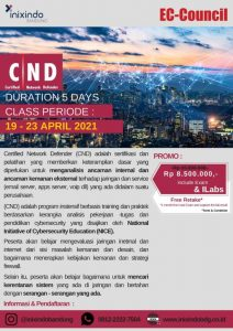 SALE EC-COUNCIL – Certified Network Defender (CND)