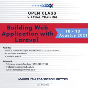 Building Web Application With Laravel
