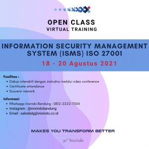 Information Security Management System (ISMS) ISO 27001